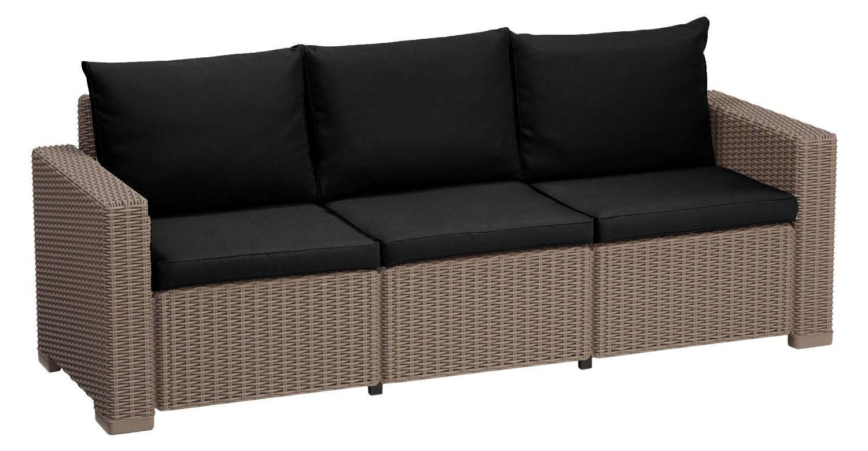 sofa pads uk flip bed toddler cushion for keter allibert california rattan garden