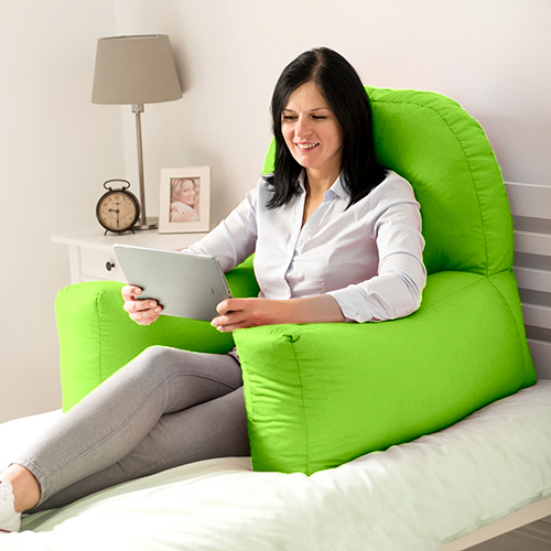 orthopedic sofa bed uk sofar sounds dc chloe reading bean bag cushion arm rest back support ...