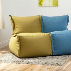 Kids Plastic Chair Hanging Game Modular Sofa Beanbag Lounger Bean Bag Couch Seating Adult Wool Feel   Ebay