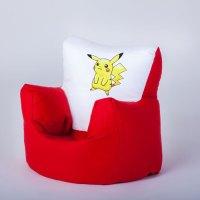 Pokemon Pikachu Children's Kids Bean Bag Chair Seat Girls ...