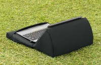Black Outdoor iPad Kindle Tablet Book Stand Pillow Lap ...