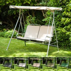 Swing Seats Uk Politics Antique Sewing Chair Replacement Canopy Cushions For Argos Malibu 2 Seater
