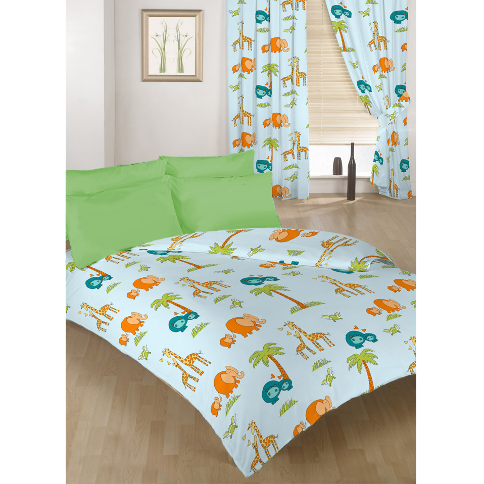 Children's Kids Duvet Quilt Cover Sets Or Curtains Bedding