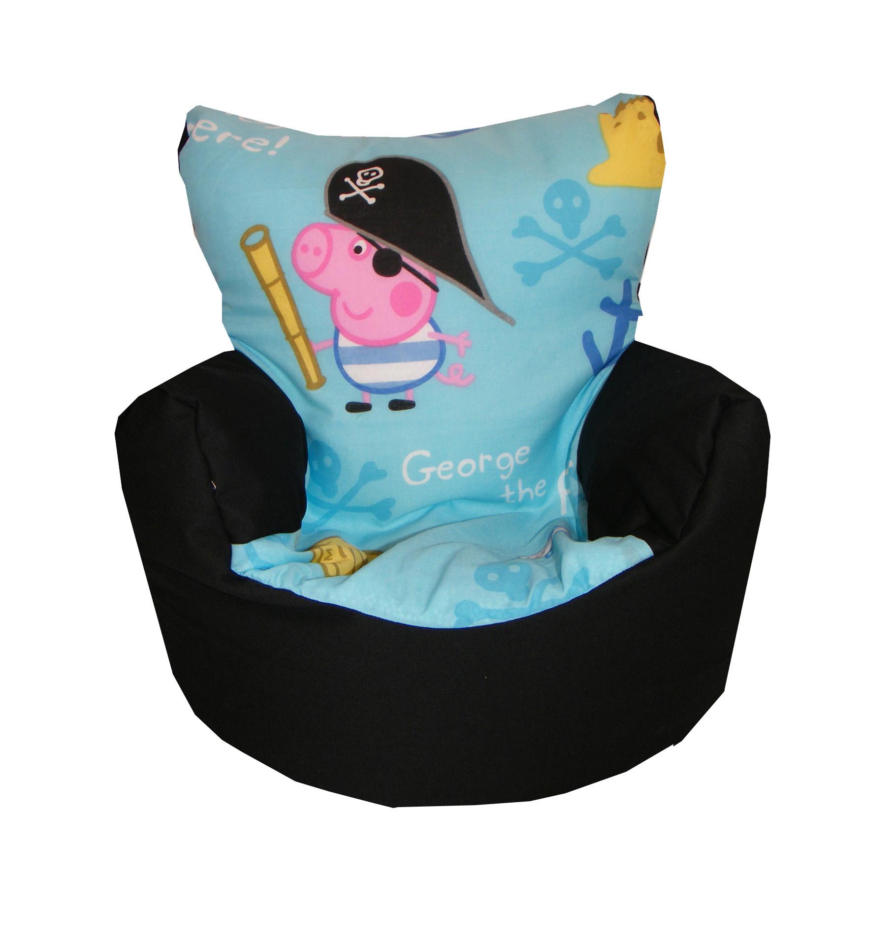 kids tv chair memory foam bed uk children 39s disney character design bean bag