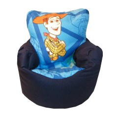 Kids Character Chairs Oxo Taupe Walnut High Chair Children 39s Tv Disney Design Bean Bag