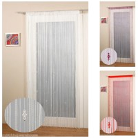 SPARKLE BEADED STRING DOOR WINDOW CURTAIN FLY SCREEN | eBay