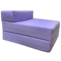 Single Fold Out Block Foam Z bed Sofabed Guest Chair Bed ...