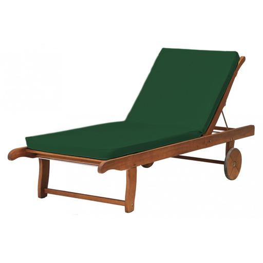 garden relaxer chair covers recliner target australia lounger outdoor replacement cushion pads sun bed deckchair patio | ebay