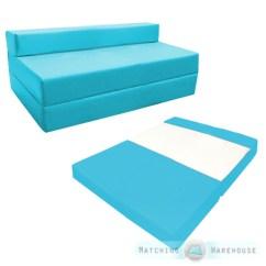 Folding Chair Beds Foam 2 Bud Light With Cooler Fold Out Waterproof Double Guest Z Bed Mattress Sofa Futon | Ebay