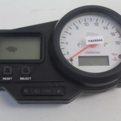 Yamaha R6 1999 Tach Wiring Diagram 1988 Chevy Power Window Rj03 Tachometer Tacho Speedo Speedometer Cockpit