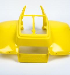 sentinel genuine suzuki lt50 model x y atv rear fender rear fender 63111 04600  [ 2046 x 1389 Pixel ]