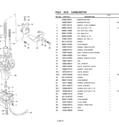 sentinel genuine suzuki lt50 atv carburetor pilot jet no 2 0 38 09492 15009 [ 1524 x 1075 Pixel ]