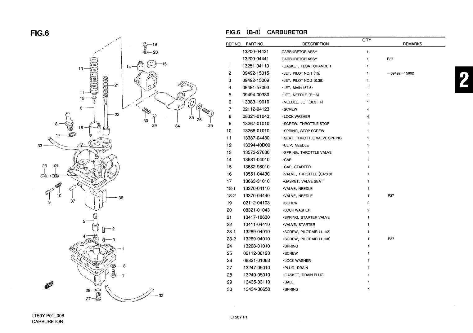 1997 suzuki lt50 parts diagram reading wiring diagrams hvac genuine mini atv quad carburetor float 13252
