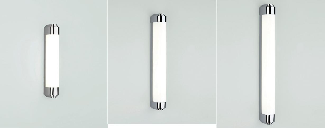 Astro Belgravia LED fluorescent bathroom wall light IP44