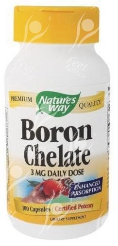 Boron Chelate 3mg x100Caps - OSTEOPOROSIS / ARTHRITIS   eBay