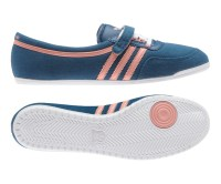 New Womens Adidas Originals Concord Round Ballerina Pumps ...