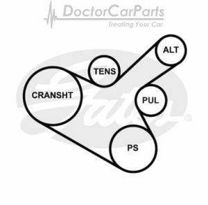 Vauxhall Astra Serpentine Belt Diagram