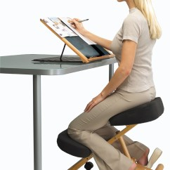 Ergonomic Chair Posture Slip Covered Putnams Kneeling For Office And Home New Ebay
