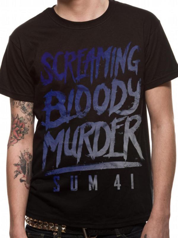 Sum 41 Scream T-shirt Tm