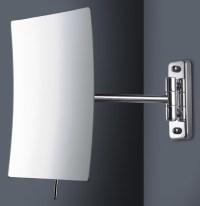 Modern Swing Arm Magnifying Vanity Bathroom Mirror ...