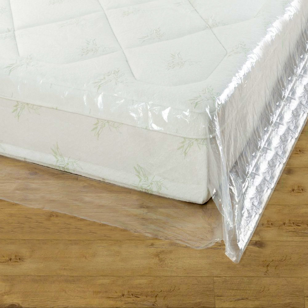 details about groundmaster durable mattress cover protective plastic storage bed bags