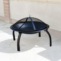 Round Fire Pit with Lid - KCT
