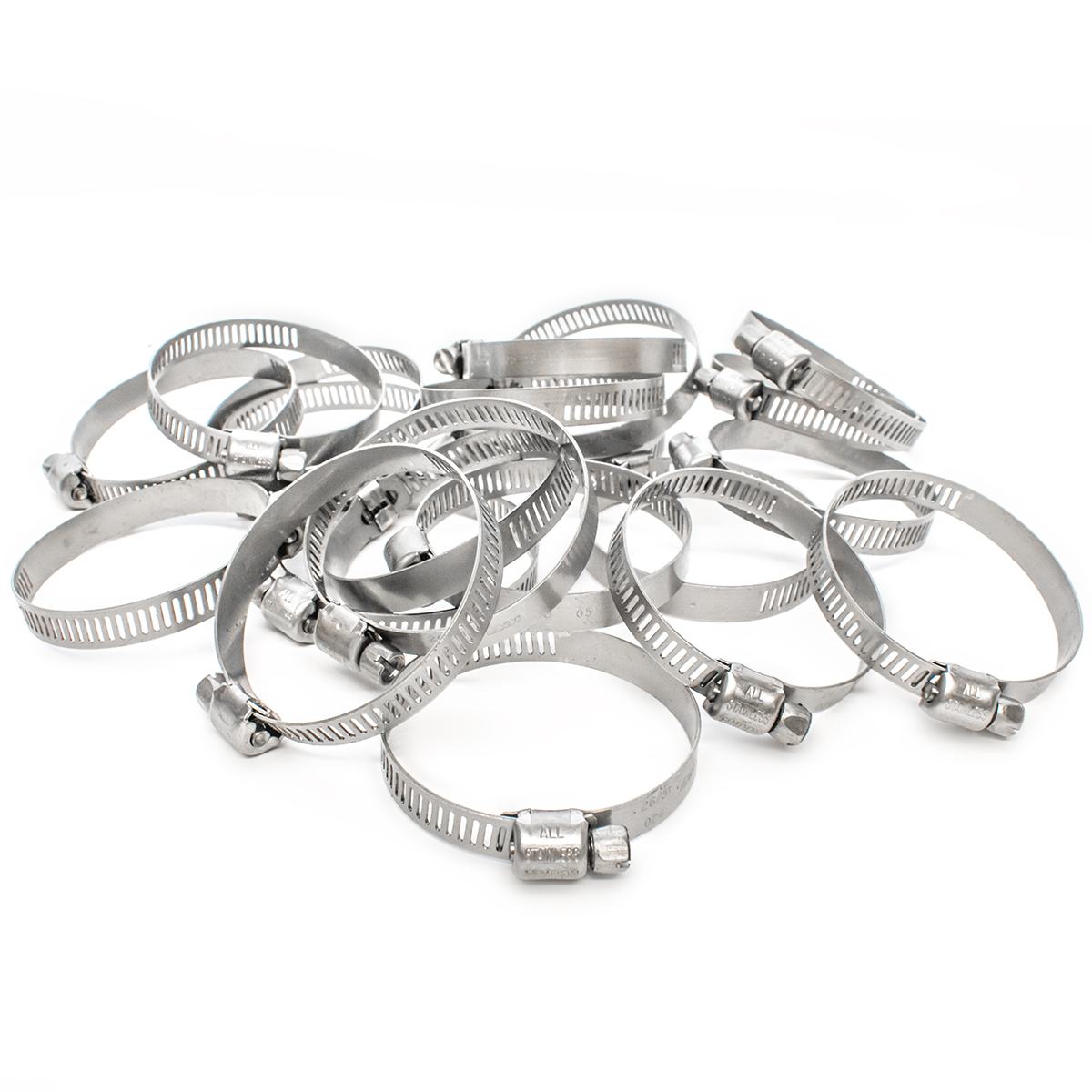 Stainless Steel Jubilee Type Hose Clips Air Line Fuel Pipe