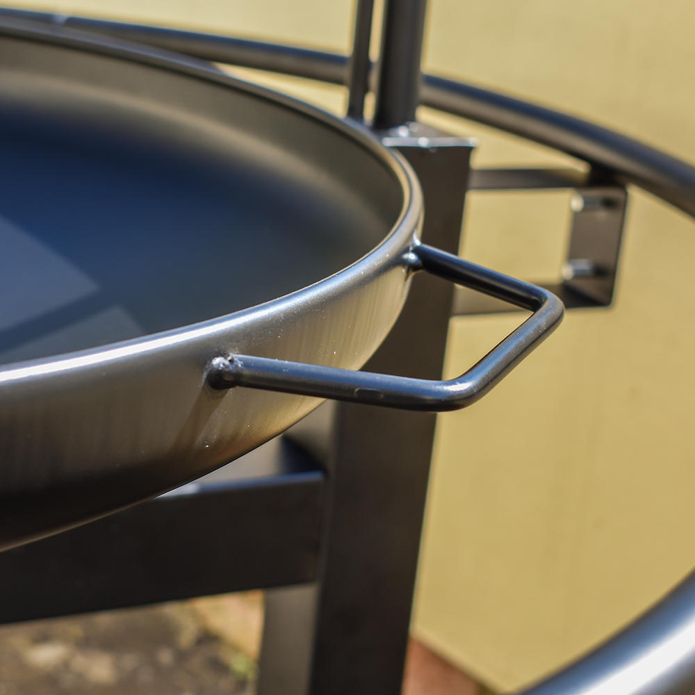 Outdoor BBQ Grill with Rotisserie
