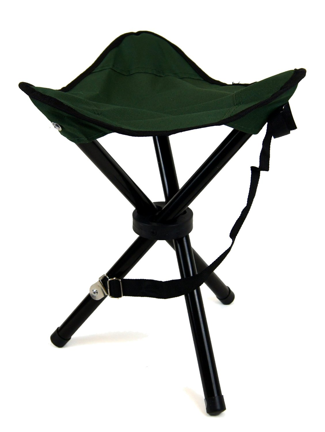 fishing chair ebay steel picture 2 x large folding camping stool seat sports camp festivals tripod seats |