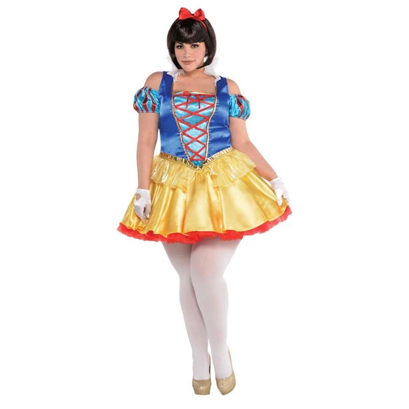Plus Size Cartoon Fancy Dress Zeenla