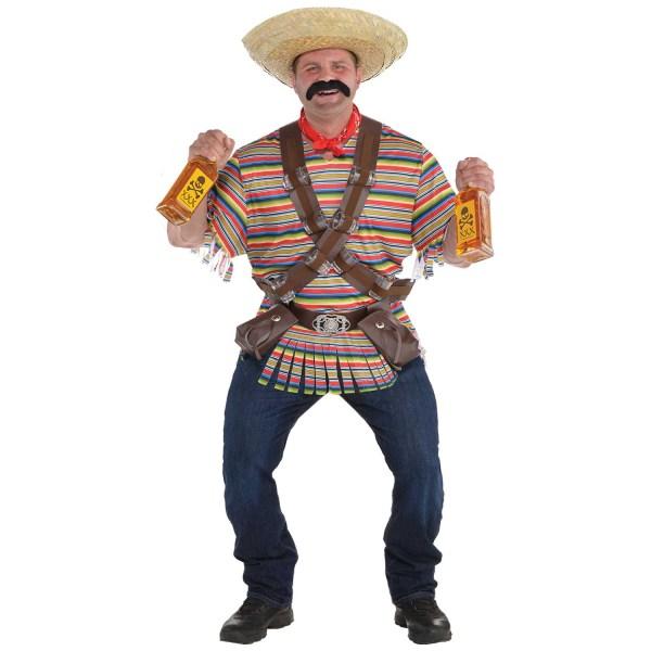 Tequila Bandito Men' Fancy Dress Costume Size