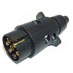 Boat Trailer Wiring Diagram 4 Pin E36 Stereo 7 Plastic Plug Car Horse Box Towbar Ebay