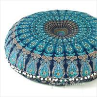 Decorative Boho Mandala Floor Cushion Pillow Cover - 32 ...