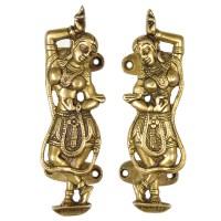 Indian Brass Dancer Door Handles & Pulls   Decorative ...