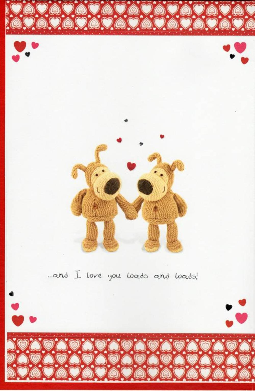 To My Gorgeous Boyfriend Boofle Valentines Day Card