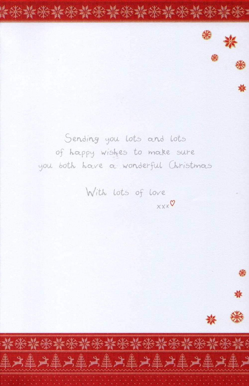 Boofle Nan Amp Grandad Christmas Greeting Card Cards