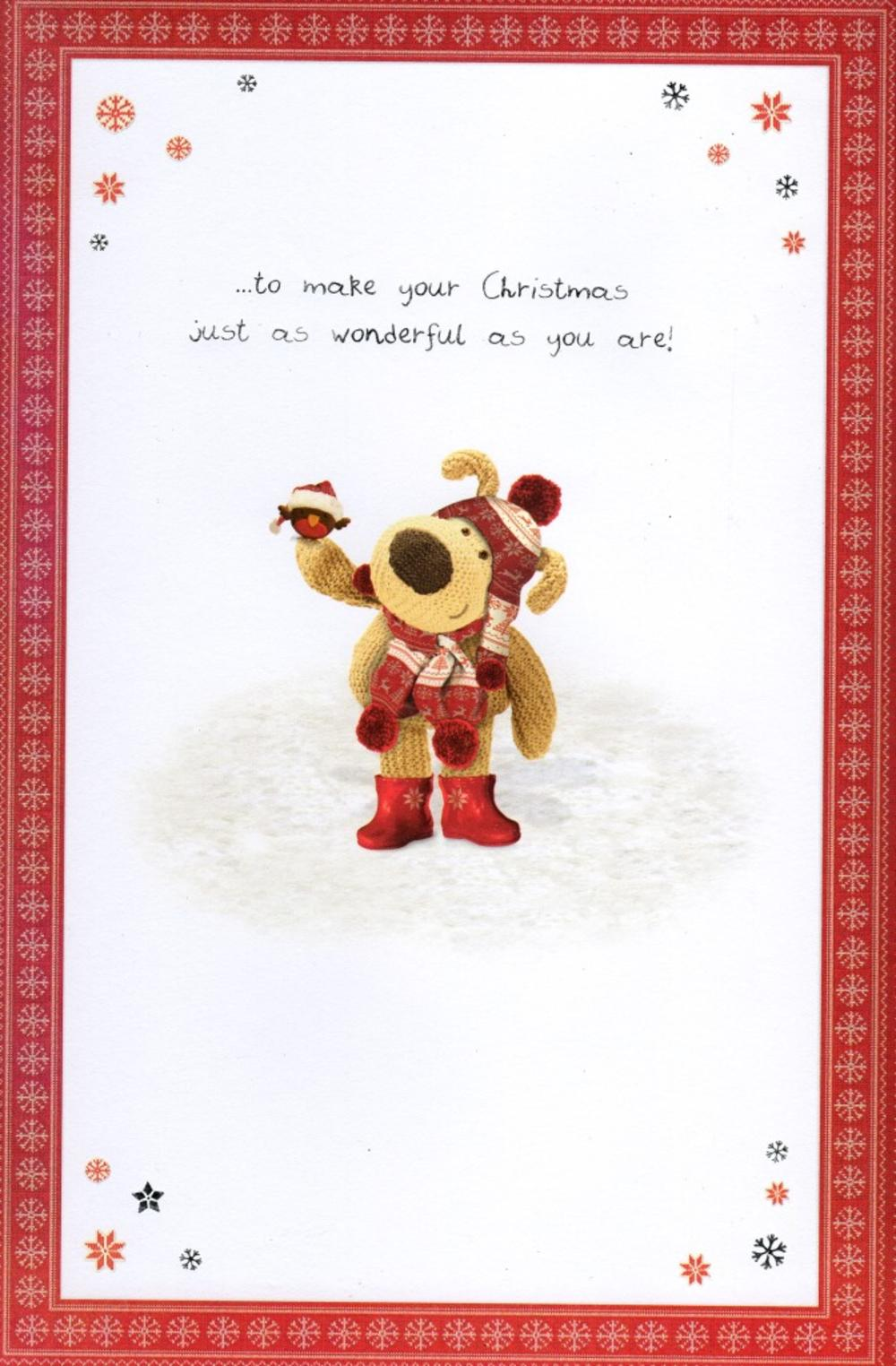 Boofle Special Daughter Christmas Greeting Card  Cards