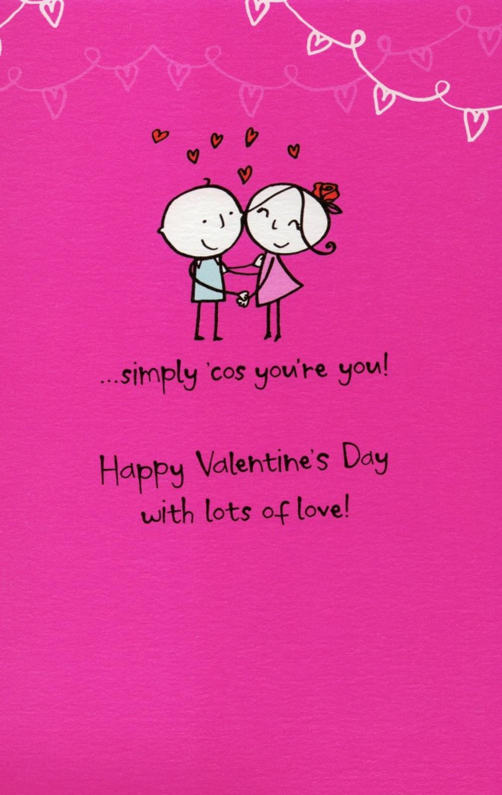 A Poem For My Girlfriend Valentines Day Greeting Card Cards