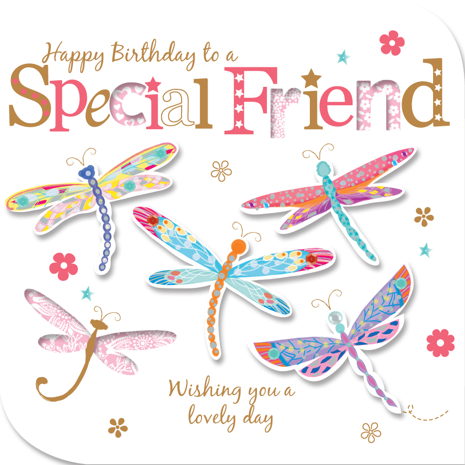 Special Friend Birthday Greeting Card Cards