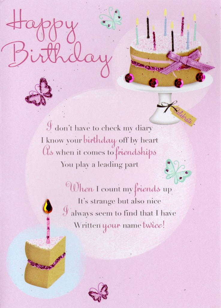 Friend Happy Birthday Greeting Card Cards