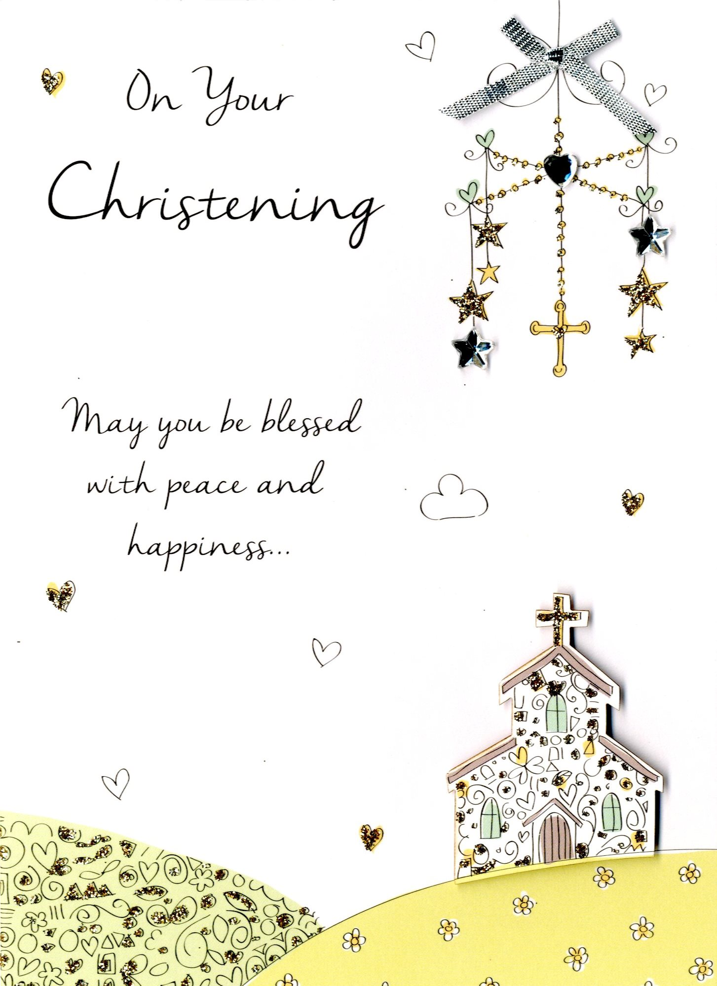 on your christening greeting