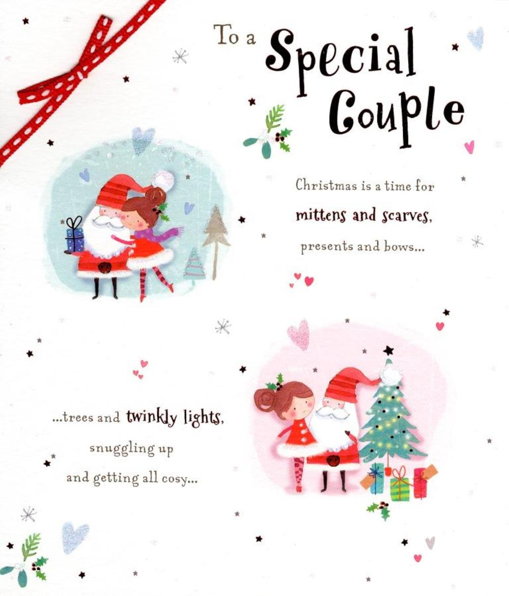 Special Couple Christmas Greeting Card Cards