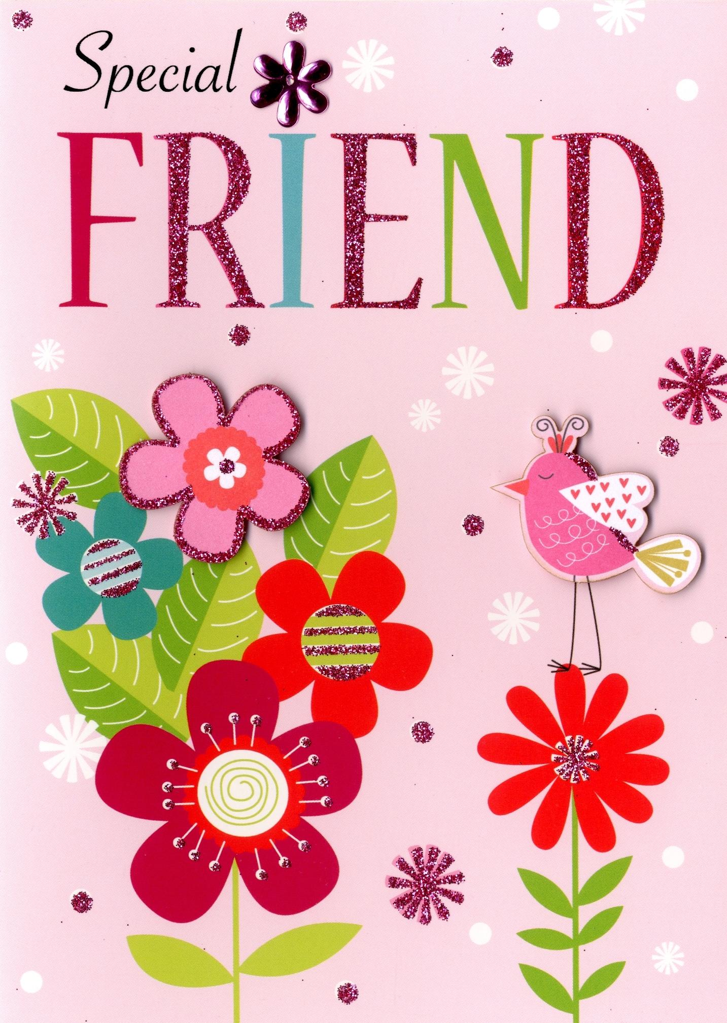 special friend birthday greeting