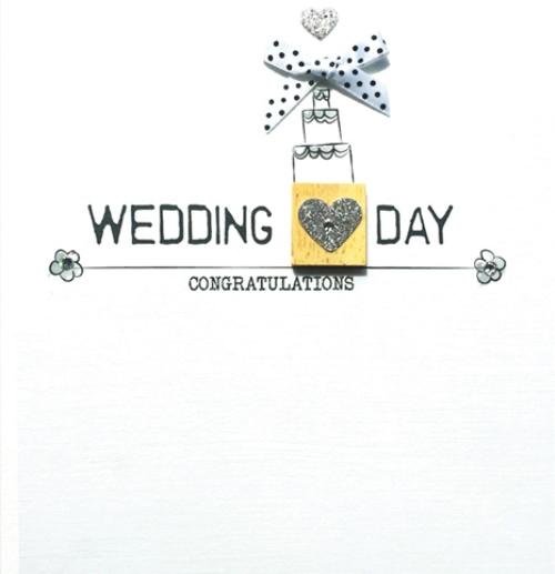 Wedding Congratulations Bexyboo Scrabbley Neon Greeting