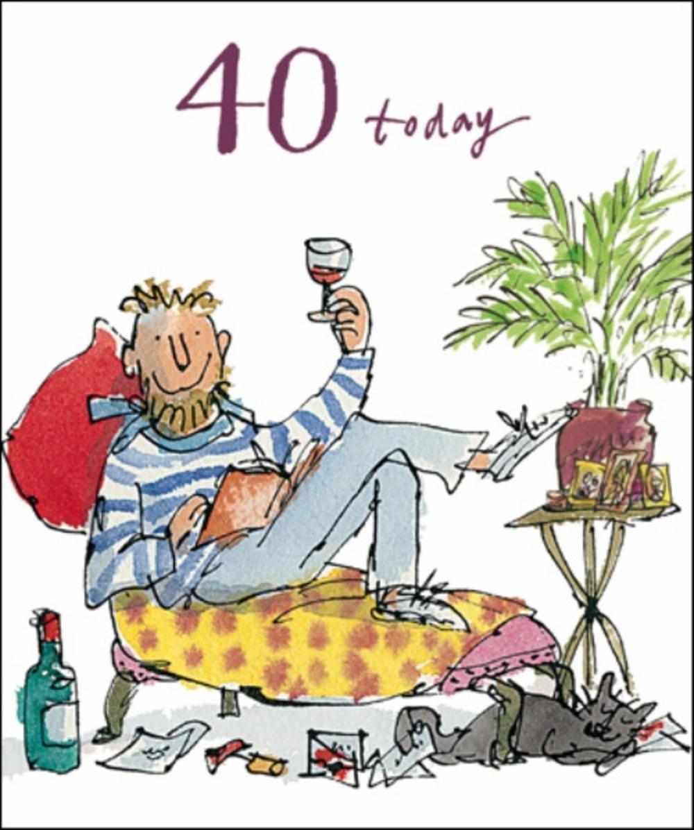 91 40th birthday wishes