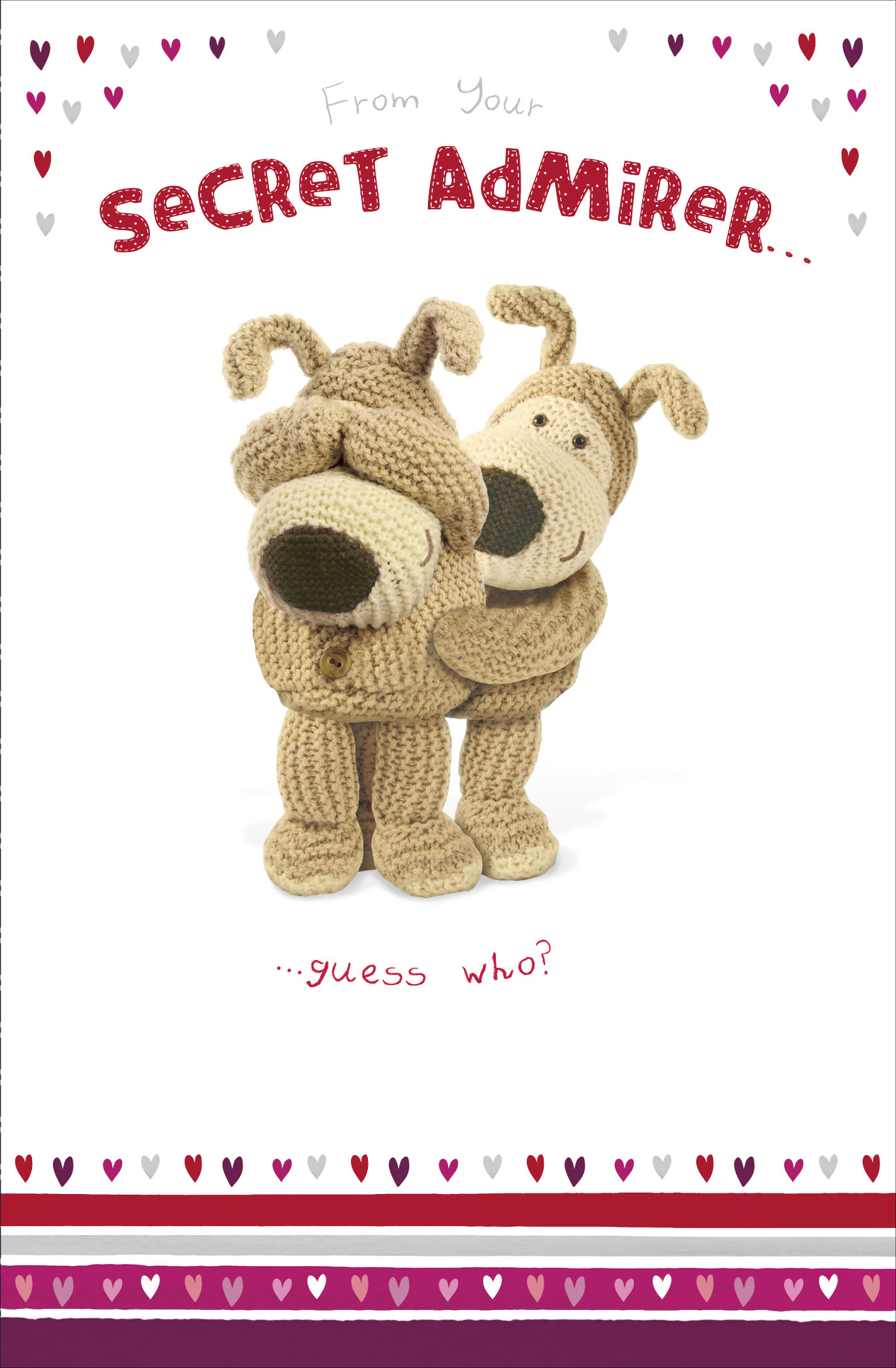 Boofle Valentine S Card From Your Secret Admirer Cute