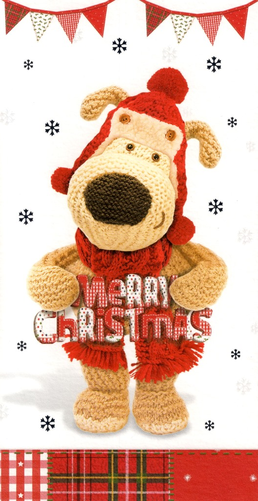 Boofle Cute Merry Christmas Money Wallet Gift Card Lovely