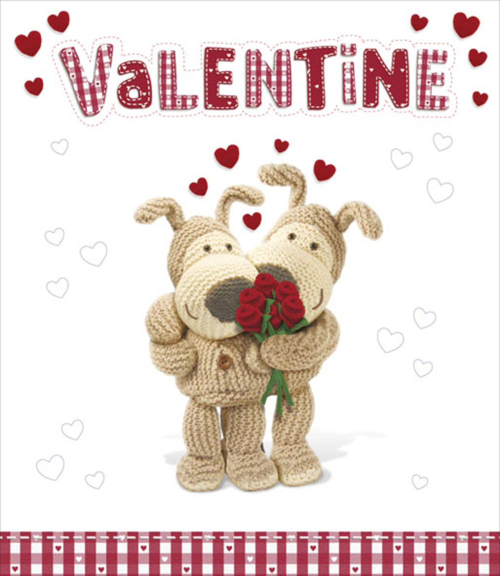 Boofle I Love You More Each Day Valentines Day Card Cards