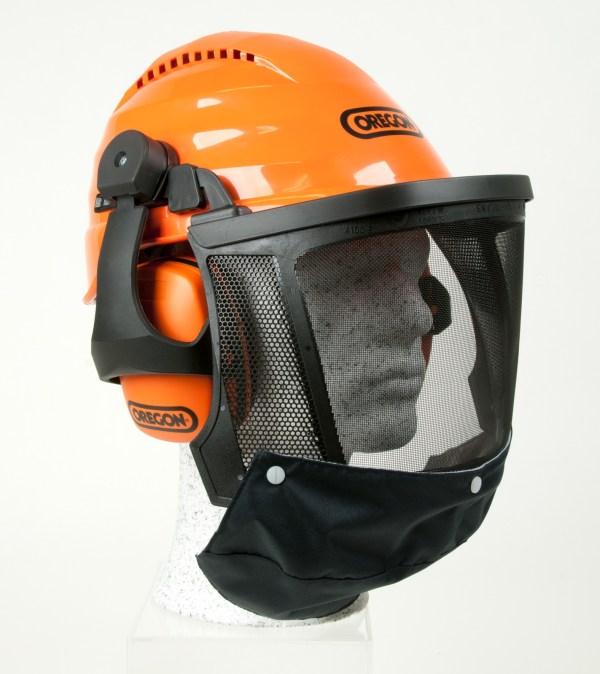 Oregon Waipoua Chainsaw Safety Helmet With Ear Defenders & Mesh Visor 562413