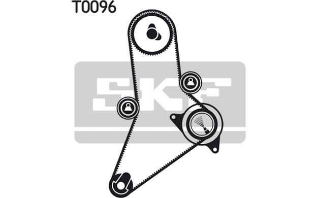 SKF Zahnriemen für Fiat Ducato 2.8 JTD 4x4 2.8 JTD Power